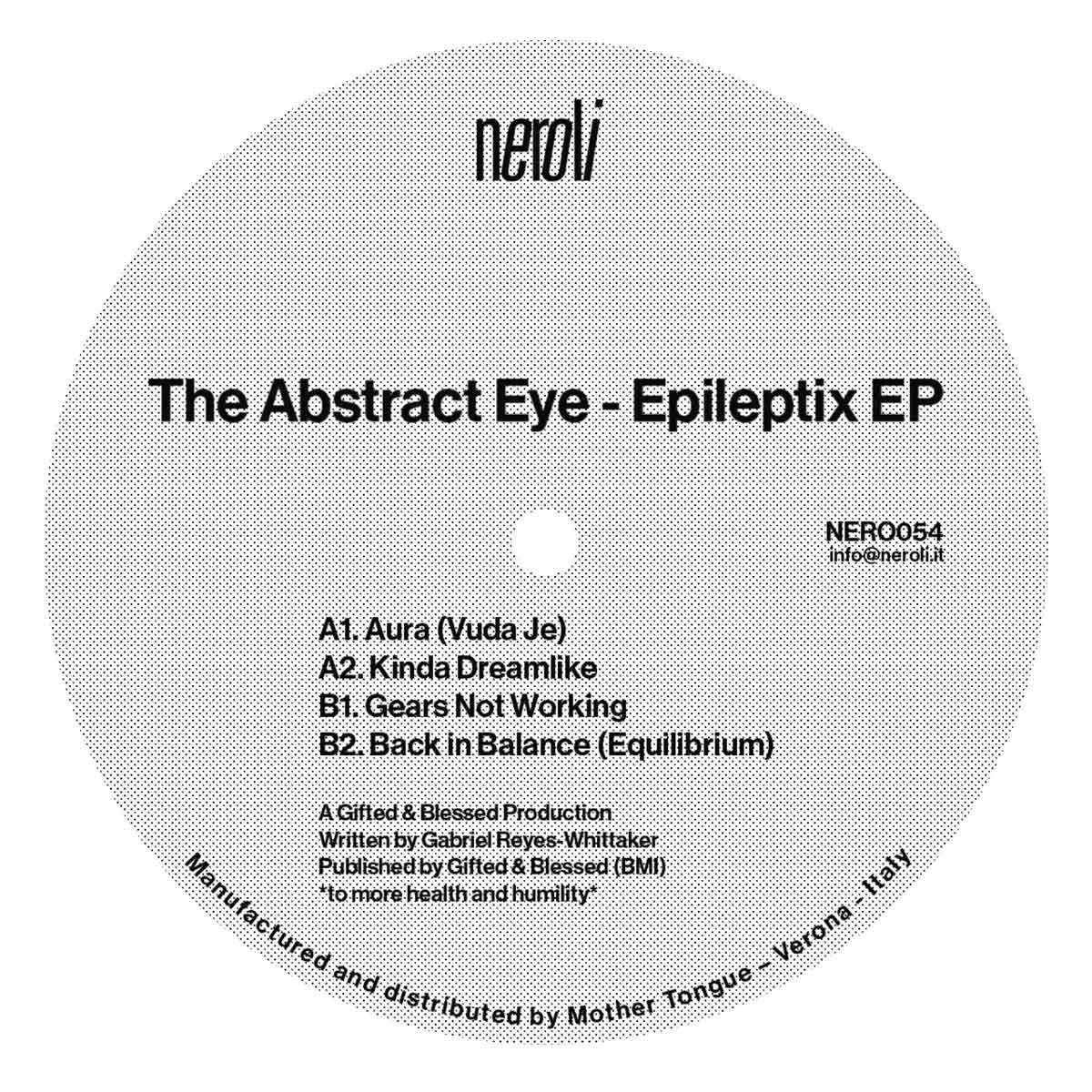 """Abstract Eye/EPILEPTIX EP 12"""""""