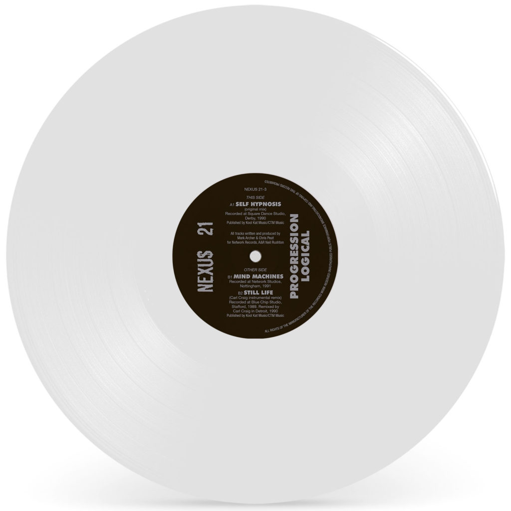 Nexus 21/PROGRESSION LOGICAL (WHITE) 12""