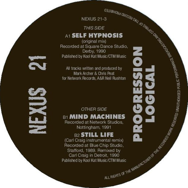 Nexus 21/PROGRESSION LOGICAL 12""