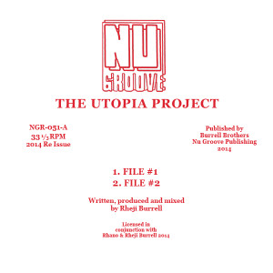 Utopia Project/FILE 1 12""