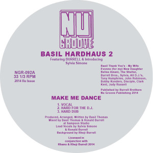 Basil Hardhaus 2/MAKE ME DANCE 12""