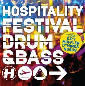 """Various/HOSPITALITY FESTIVAL D&B EP D12"""""""