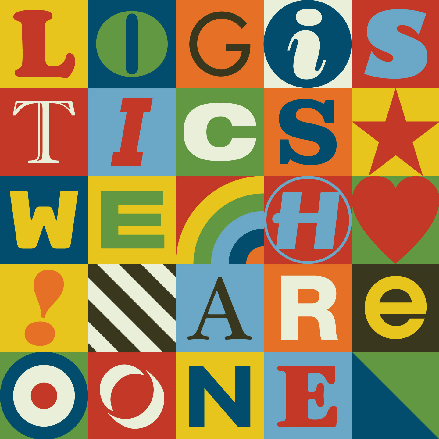 Logistics/WE ARE ONE (NU:LOGIC RMX) 12""