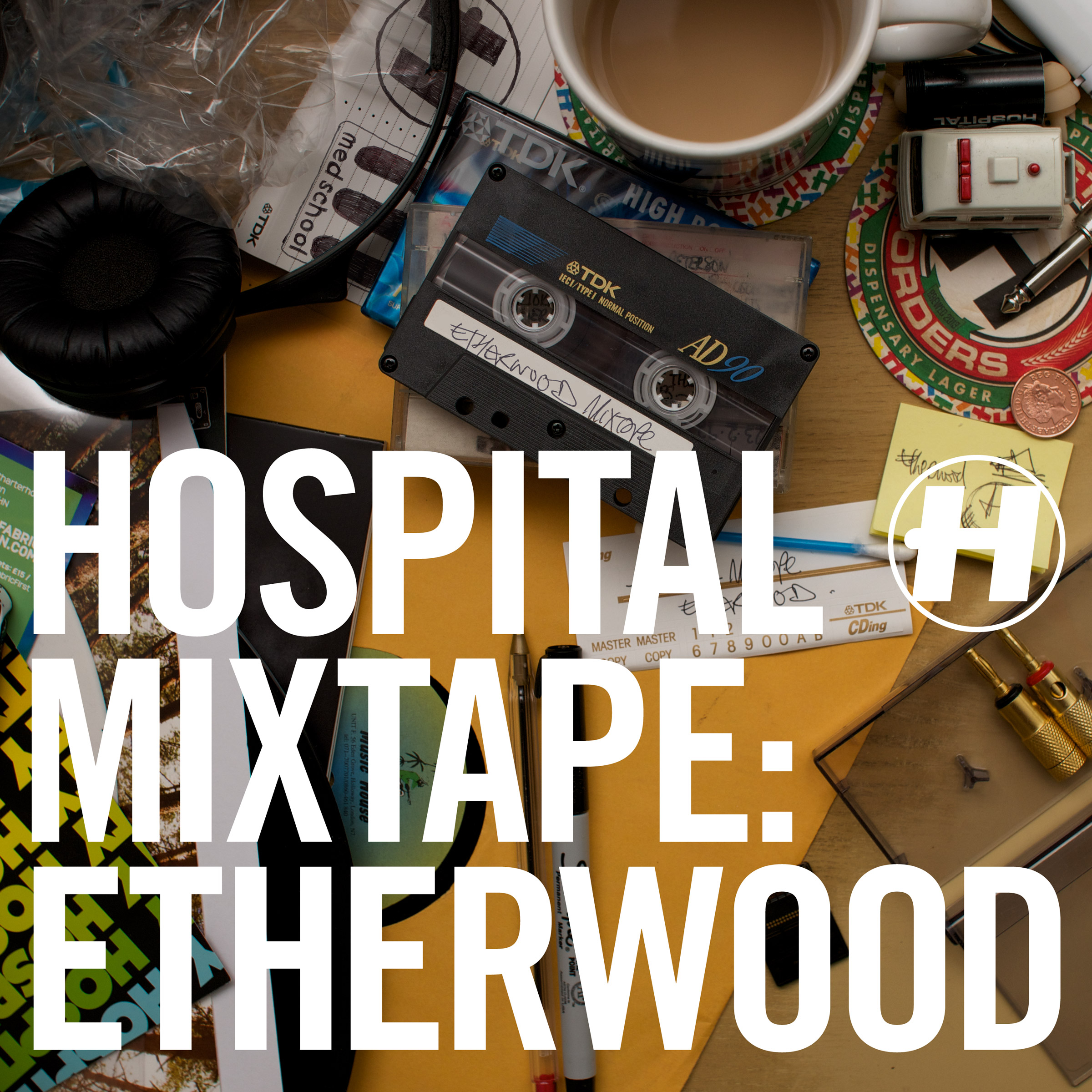 Various/HOSPITAL MIXTAPE: ETHERWOOD CD