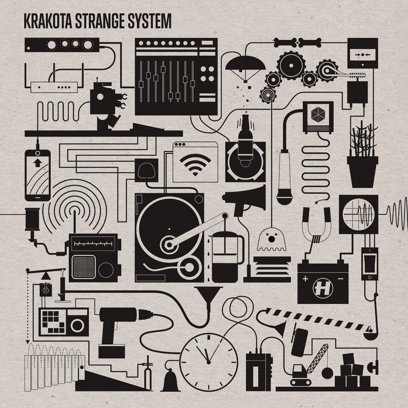 Krakota/STRANGE SYSTEM CD