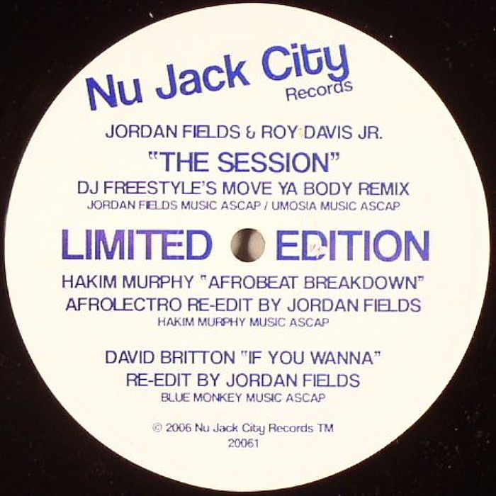 Jordan Fields & Roy Davis/SESSION 12""