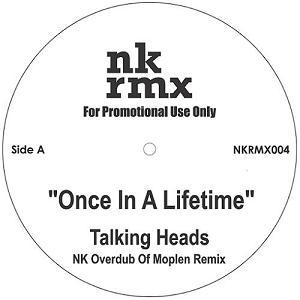 "Talking Heads/NK OVERDUB OF MOPLEN 12"""