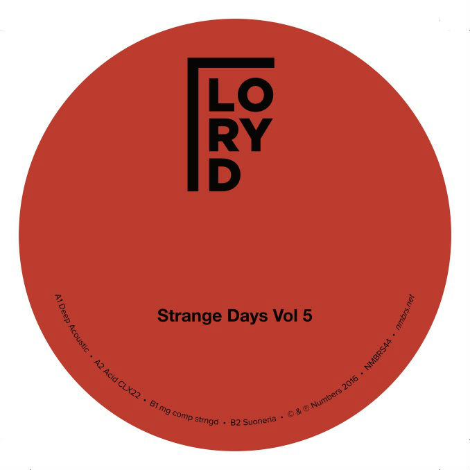 Lory D/STRANGE DAYS VOL. 5 12""