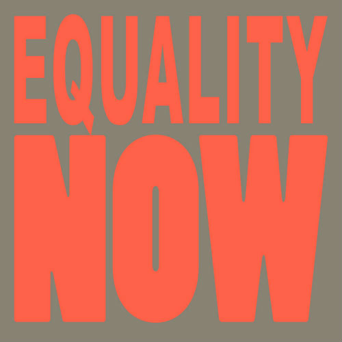 Peder Mannerfelt/EQUALITY NOW 12""