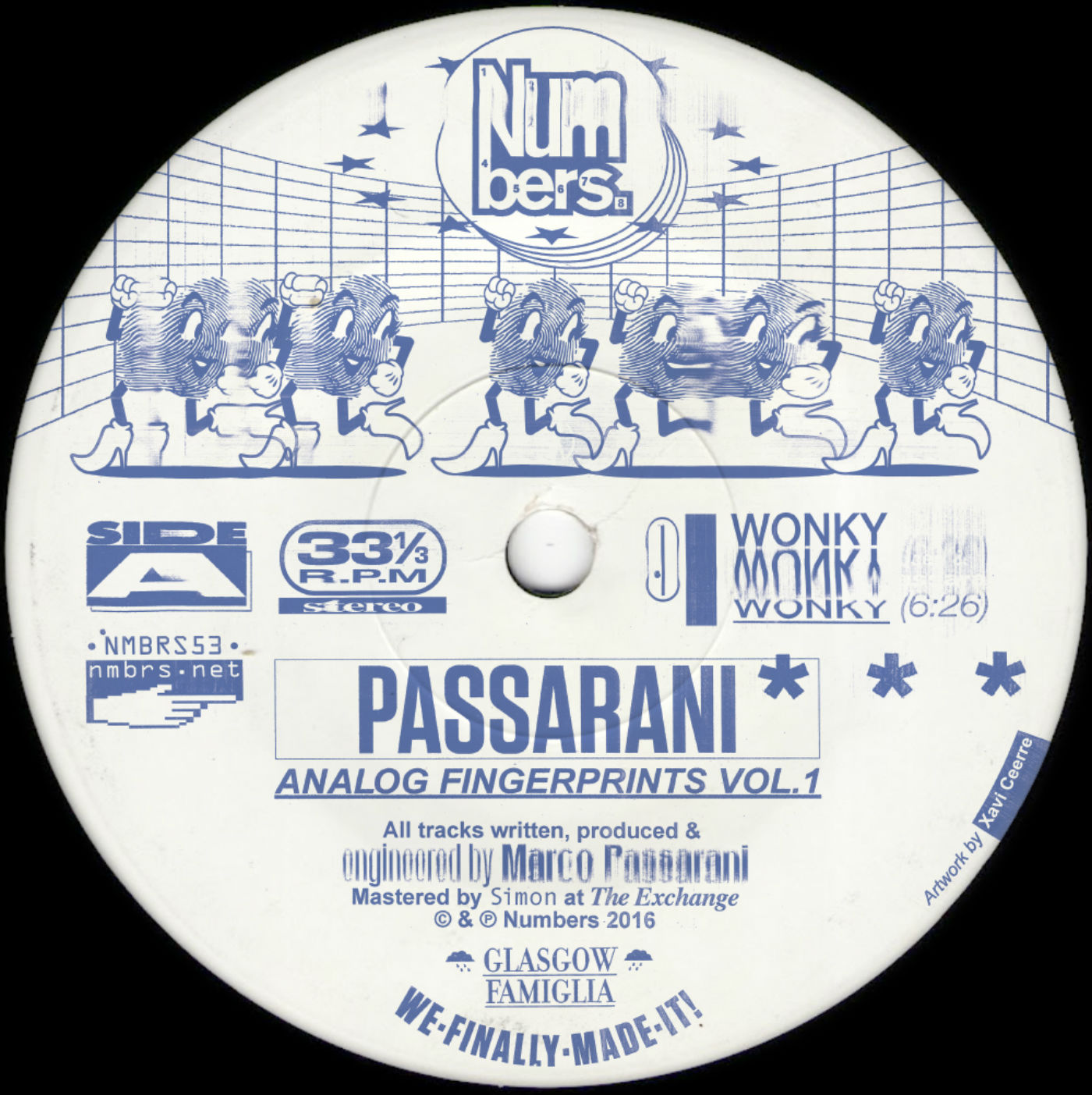 Passarani/ANALOG FINGERPRINTS VOL. 1 12""