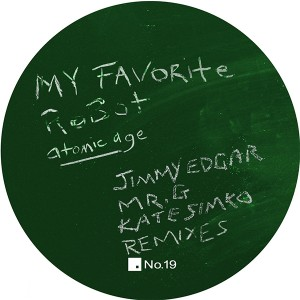 My Favorite Robot/REMIX EP 12""