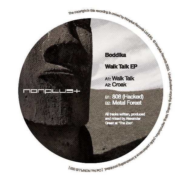 Boddika/WALK TALK EP 12""
