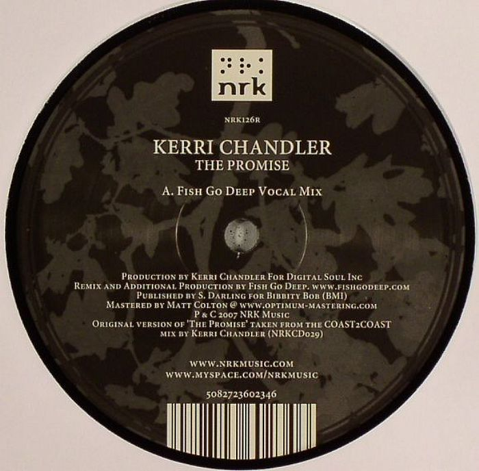 Kerri Chandler/PROMISE-FISH GO DEEP 12""
