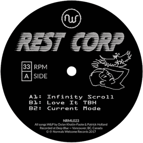 Rest Corp/INFINITY SCROLL 12""