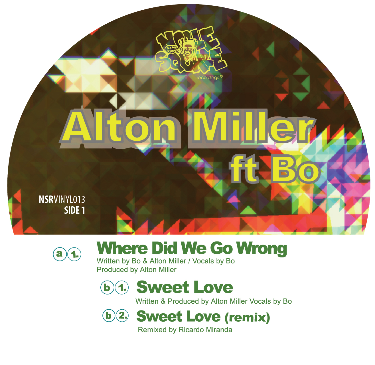 Alton Miller/WHERE DID WE GO WRONG 12""