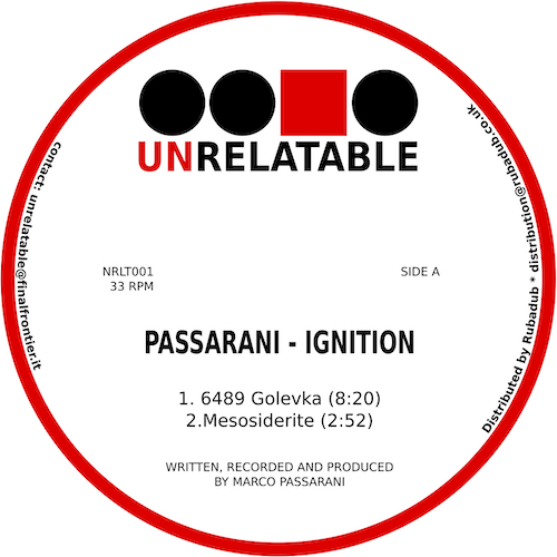 Passarani/IGNITION EP 12""