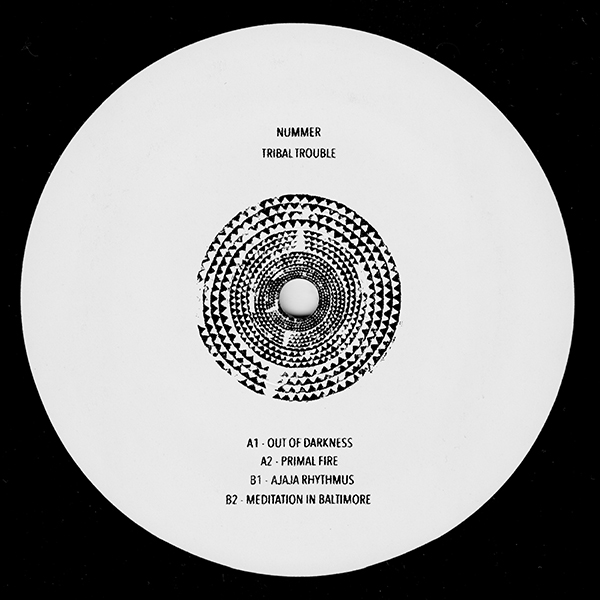 Nummer/TRIBAL TROUBLE EP 12""
