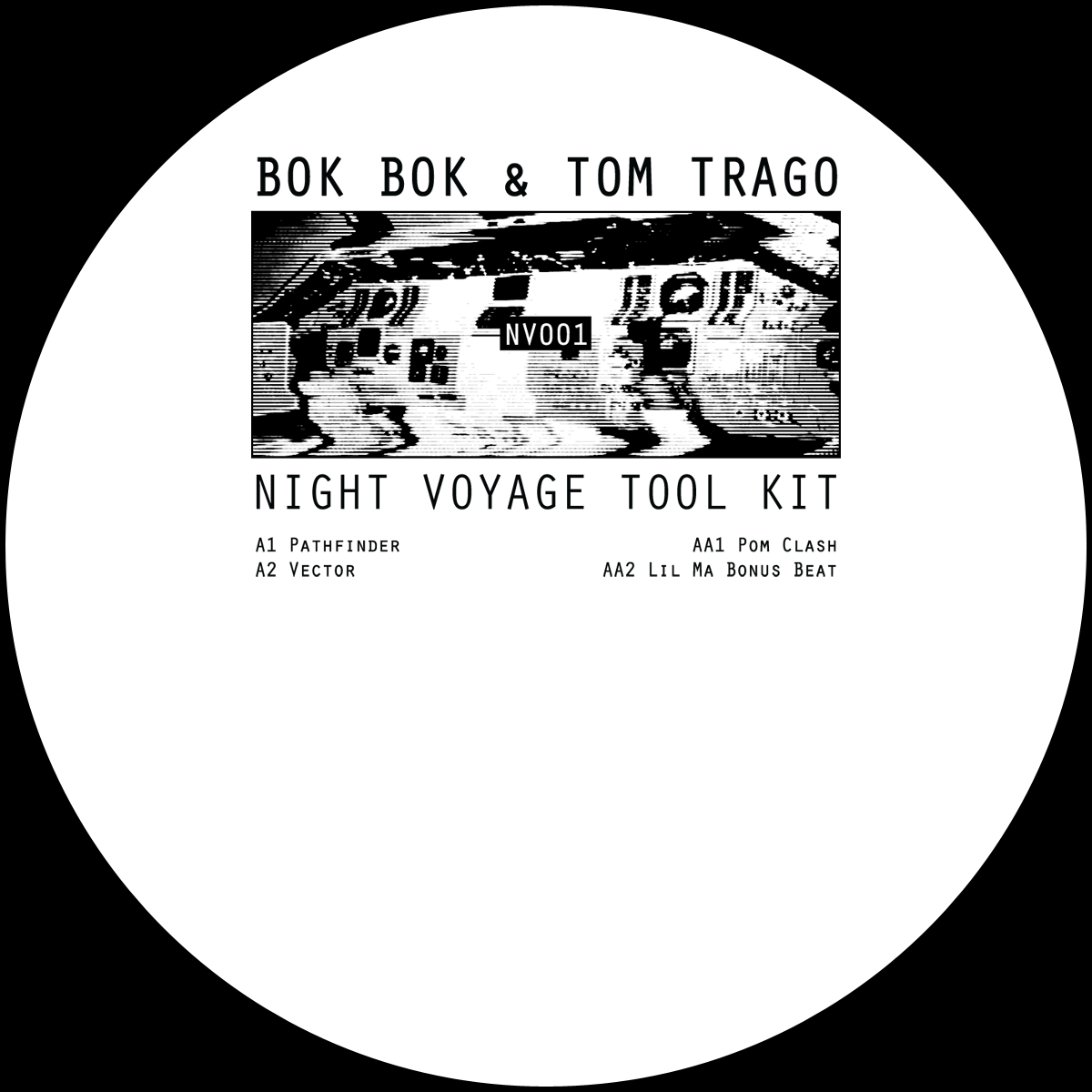 Bok Bok & Tom Trago/NIGHT VOYAGE... 12""