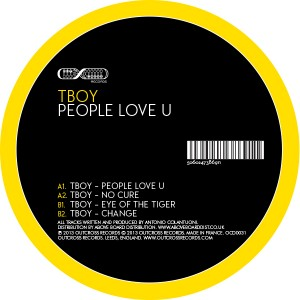 Tboy/PEOPLE LOVE U 12""