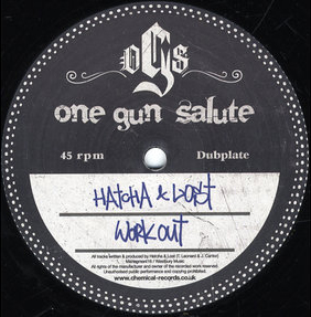 Hatcha & Lost/WORKOUT 12""