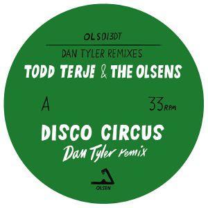 "Todd Terje/DISCO CIRCUS-DAN TYLER RX 10"""