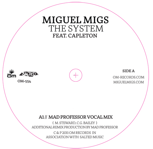 Miguel Migs & Capleton/THE SYSTEM 7""