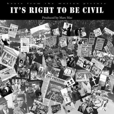 Marc Mac/IT'S RIGHT TO BE CIVIL LP