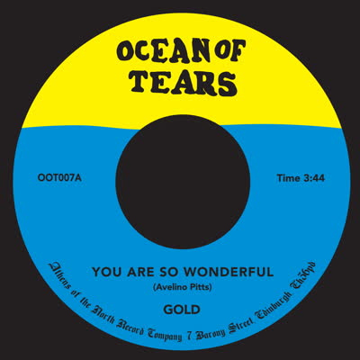 Gold/YOU ARE SO WONDERFUL 7""