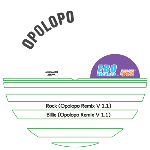 Michael Jackson/OPOLOPO REMIXES 12""