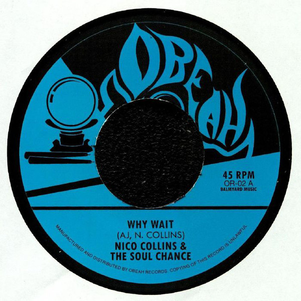 Soul Chance/WHY WAIT & WAITING 7""