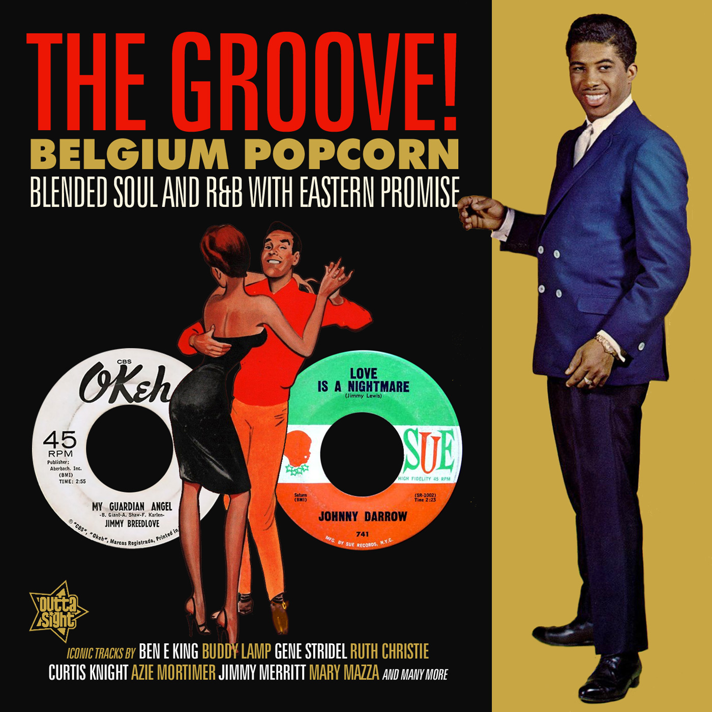 Various/BELGIUM POPCORN - THE GROOVE CD