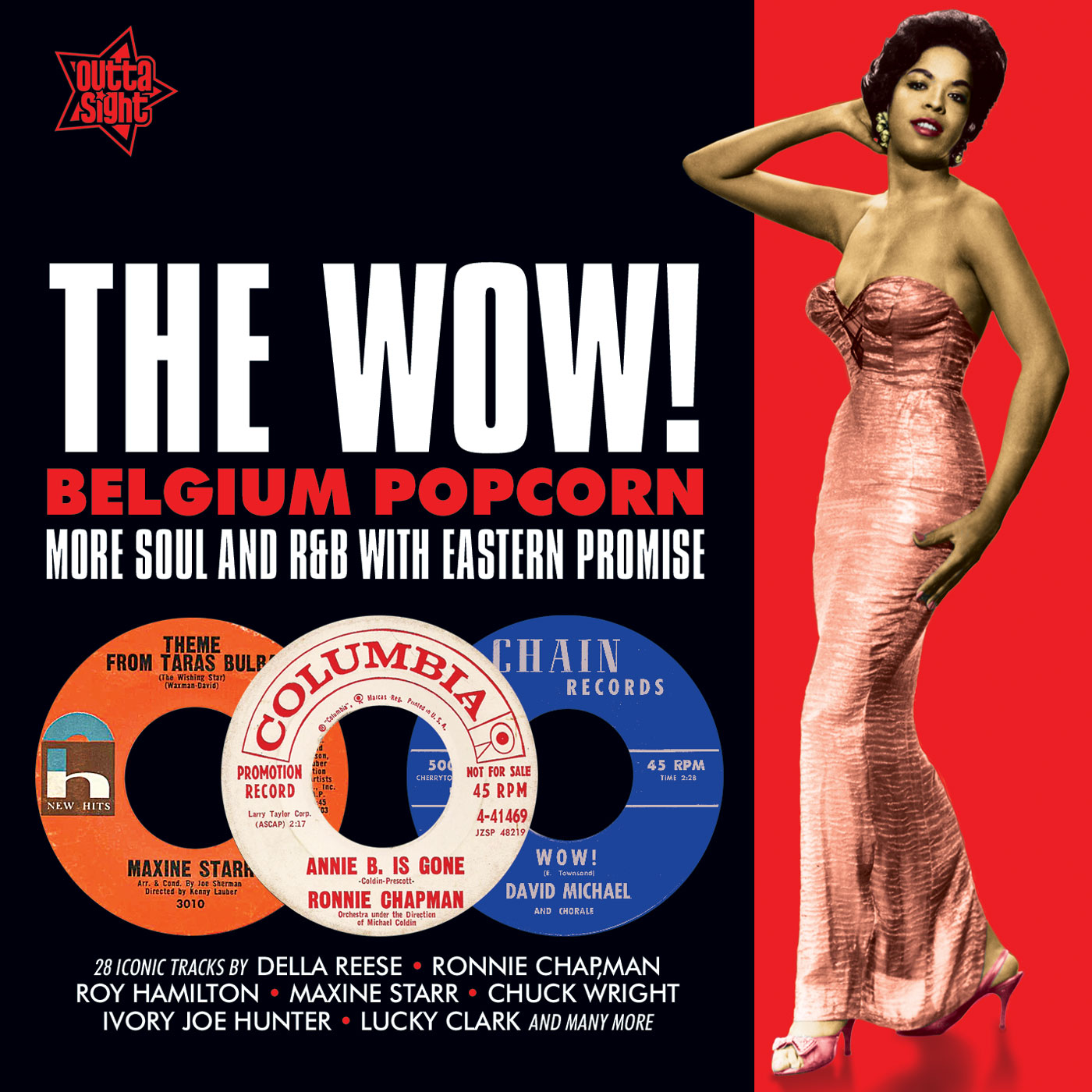 Various/THE WOW! BELGIUM POPCORN CD