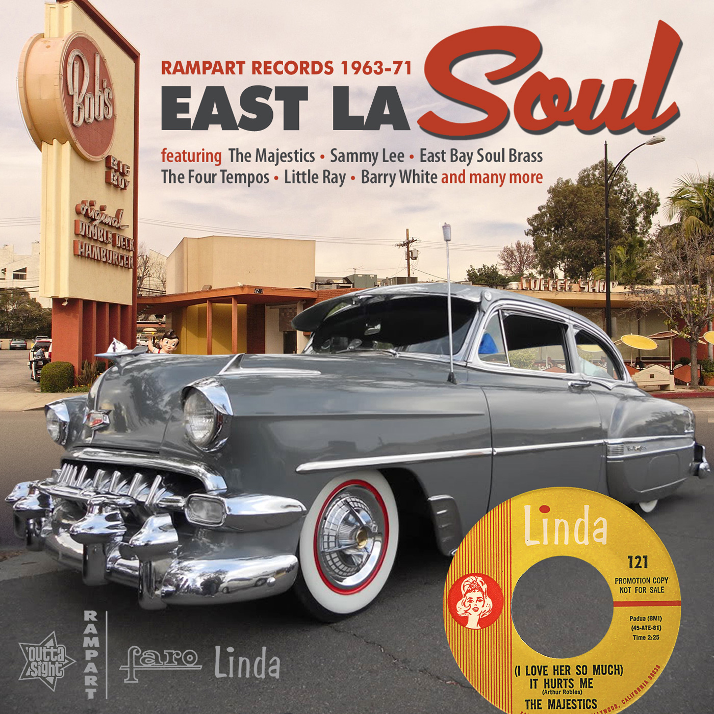 Various/EAST LA SOUL (RAMPART 63-71) CD