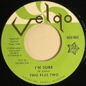 Two Plus Two/I'M SURE 7""