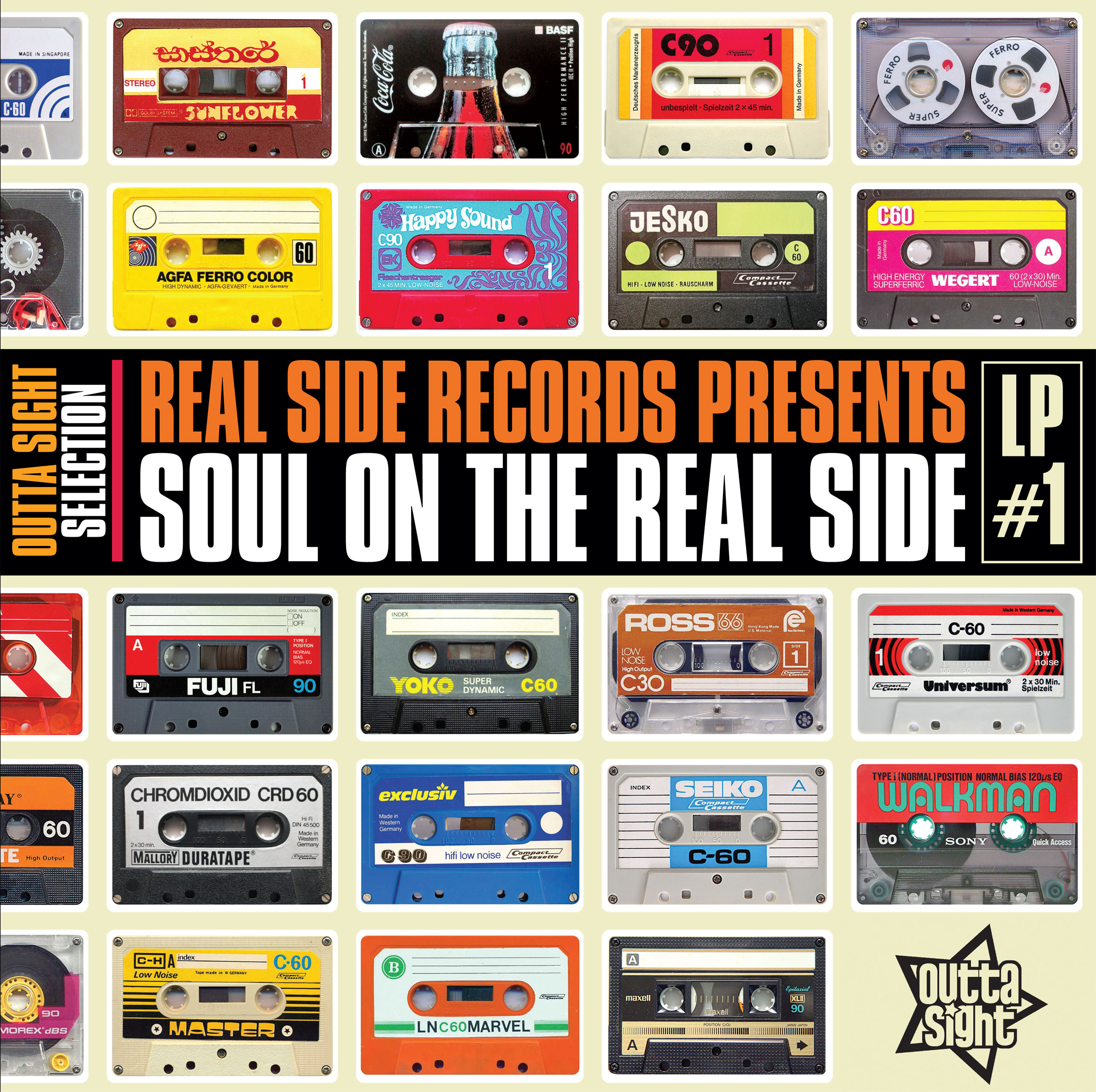 Various/SOUL ON THE REAL SIDE LP