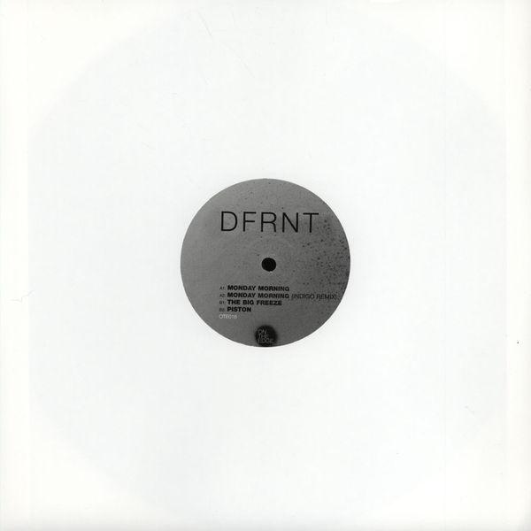 "DFRNT/THE BIG FREEZE EP 12"""
