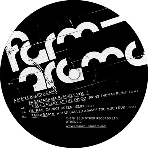 A Man Called Adam/FARMARAMA RMXS-RSD 12""