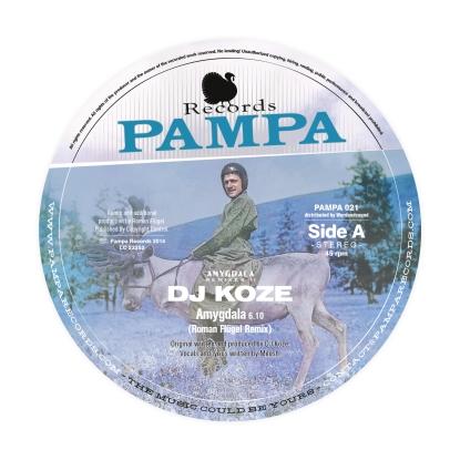 "DJ Koze/AMYGDALA 12"""