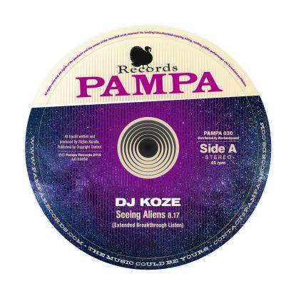 "DJ Koze/SEEING ALIENS EP 12"""