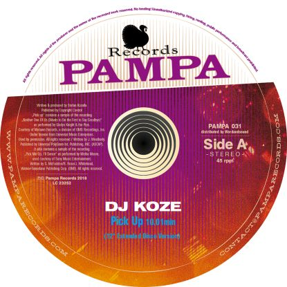 DJ Koze/PICK UP 12""