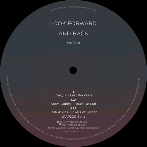 Various/LOOK FORWARD AND BACK 12""