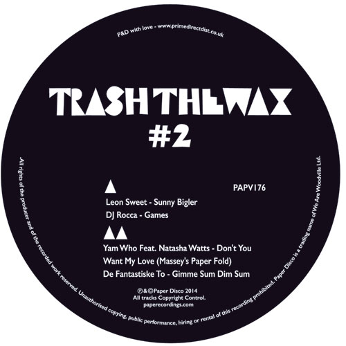 Various/TRASH THE WAX #2 EP 12""