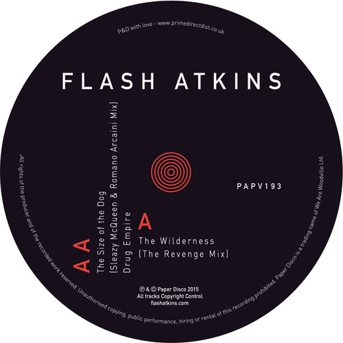 Flash Atkins/WILDERNESS (REVENGE RX) 12""