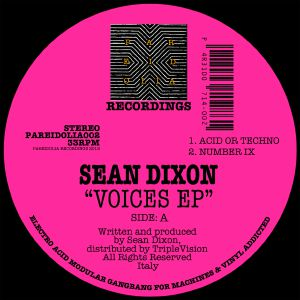 Sean Dixon/VOICES EP 12""