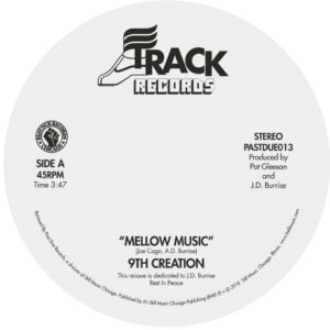 9th Creation/MELLOW MUSIC 7""