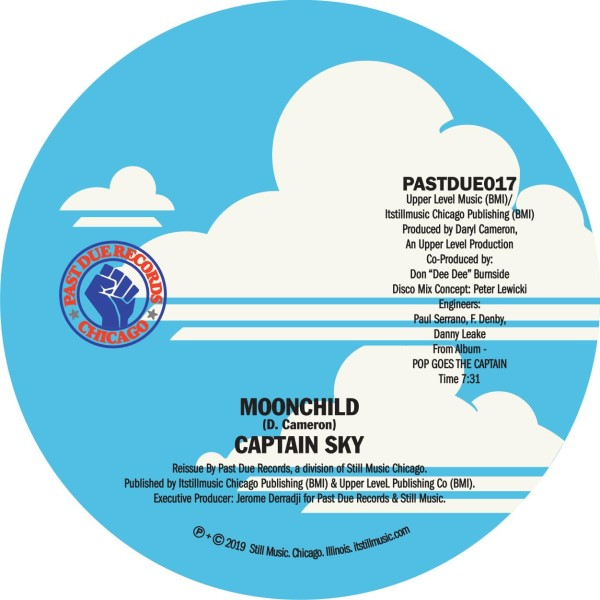 Captain Sky/MOONCHILD (DISCO MIX) 12""