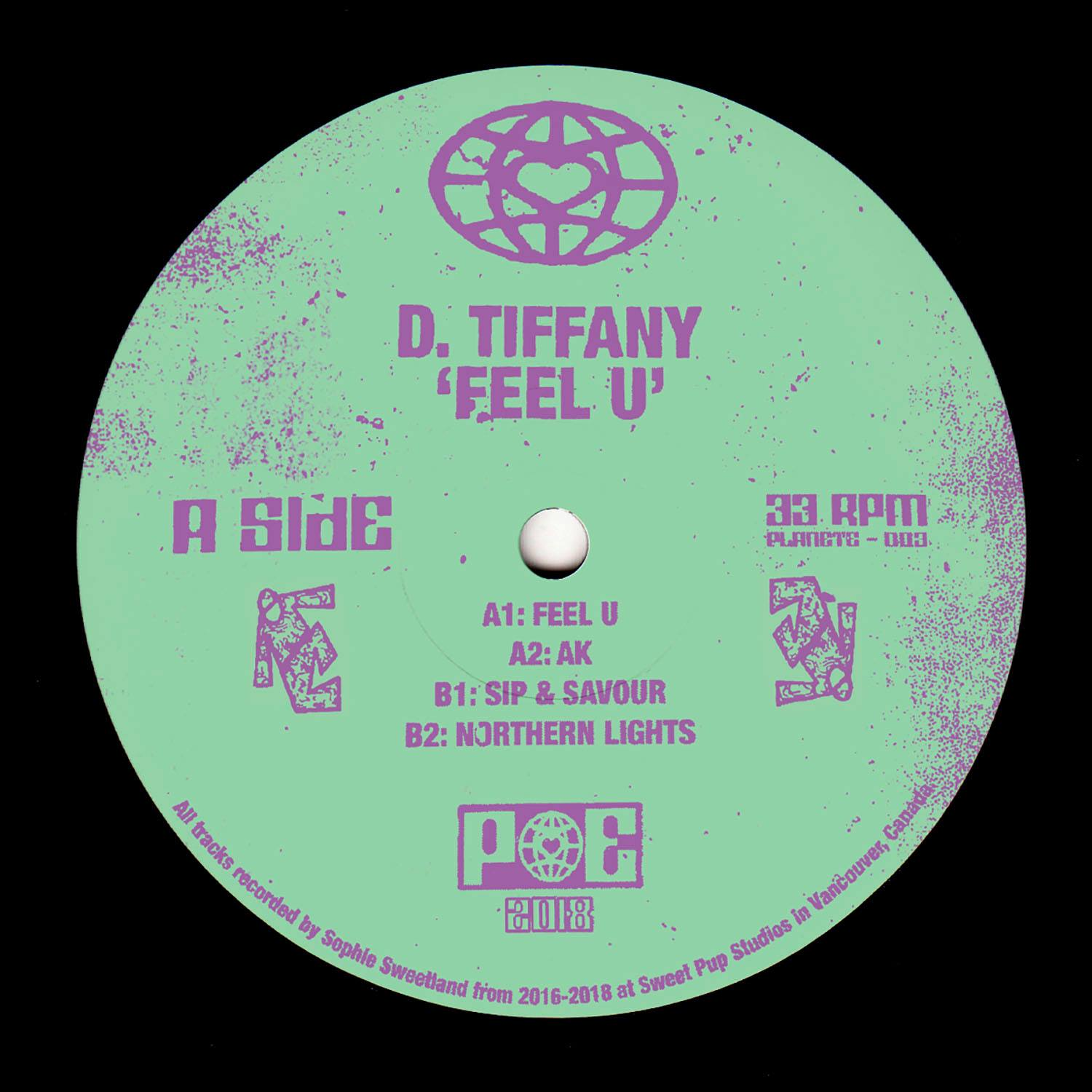 D. Tiffany/FEEL U 12""