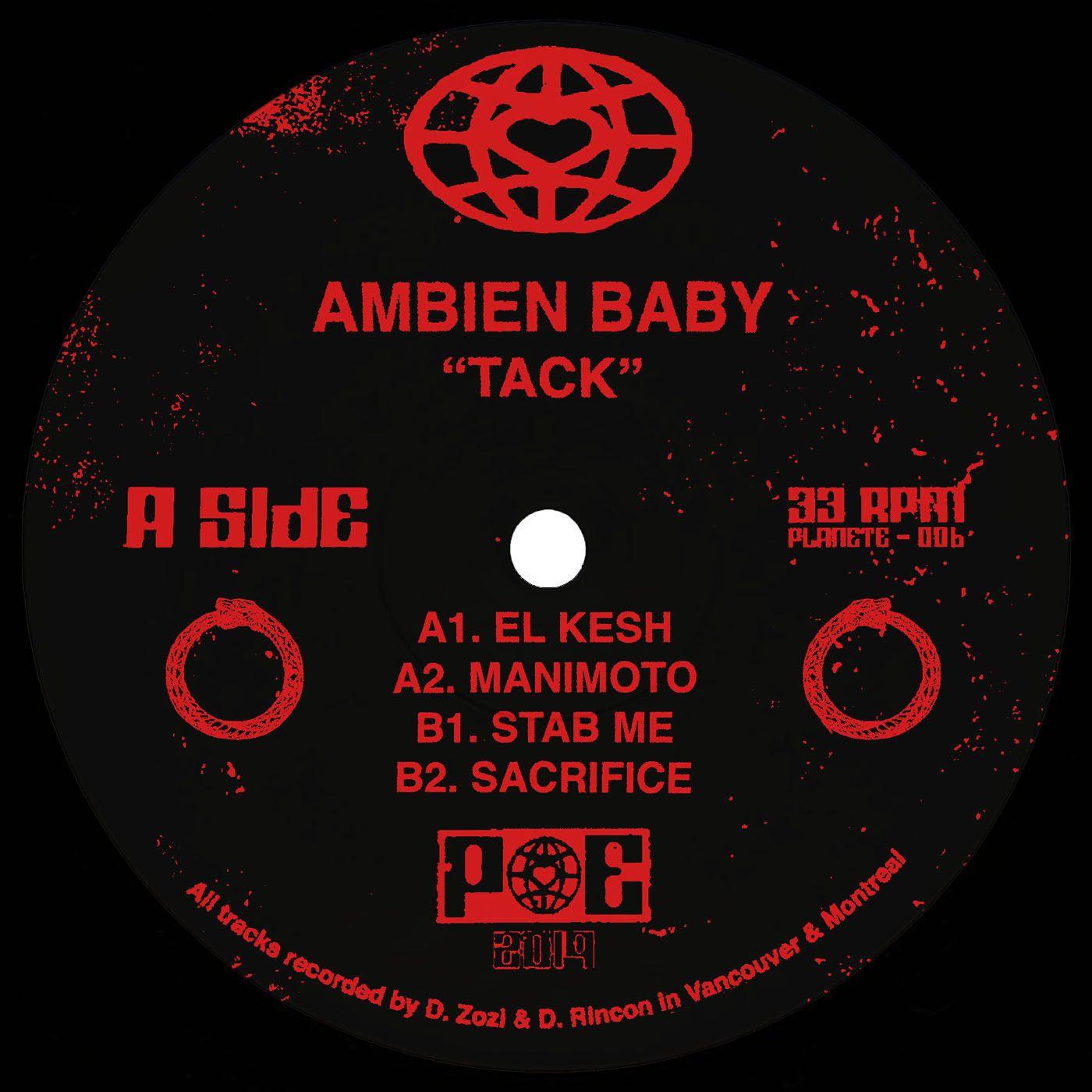 "Ambien Baby/TACK EP 12"""