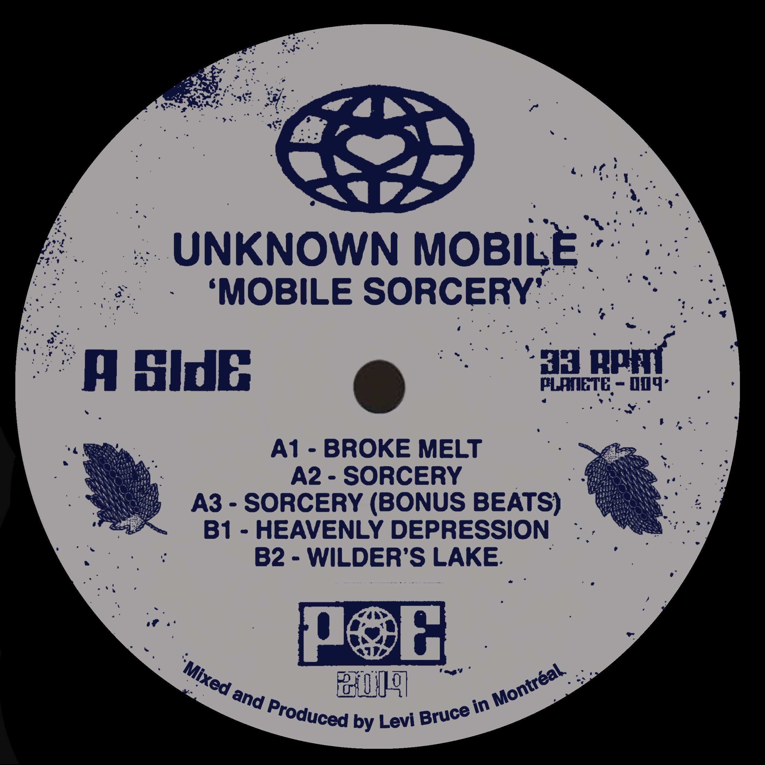 Unknown Mobile/MOBILE SORCERY EP 12""
