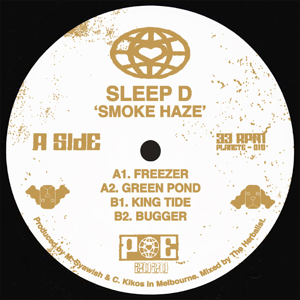 Sleep D/SMOKE HAZE EP 12""